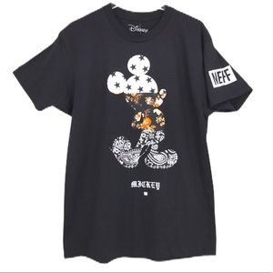 Mickey Mouse NEFF X Disney Long Sleeve T Large NWT
